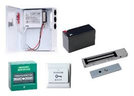 door access control standard accesories