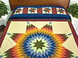 southwest colors lone star quilt photo 1 bedding luxury western bedding collection lone star