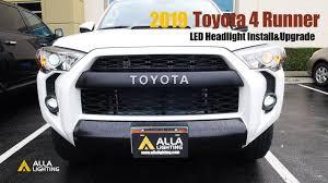 2018 Toyota 4runner Fog Light Bulb Size 2010 19 Toyota 4runner Headlights Bulb Low Beam Led Upgrade Install