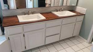 diy wood bathroom countertops bathroom amusing bathroom makeover day 2 my wood in wooden s from diy wood bathroom countertops