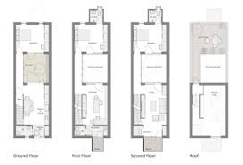 narrow row house floor plans google search houses beautiful