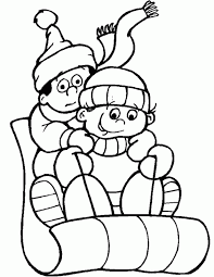 Small Picture Winter Themed Coloring Pages Coloring Home