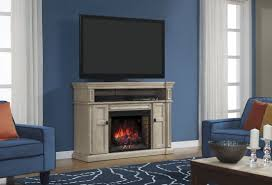 58 wyatt soft white grey media mantel electric fireplace 28mm4684 t477