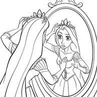 Kleurplaat Rapunzel En Haar Vrienden
