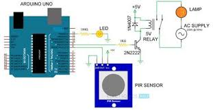 automatic room lights using arduino and pir sensor arduino automatic room lights using arduino and pir sensor circuit diagram 2 arduino lcd hobby electronics