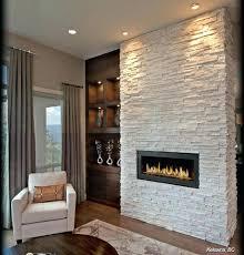 fireplace stone tile stacked tiles veneer ideas