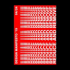 19 Design Design Manifesto 19 Dora Visky