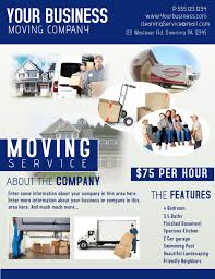 Moving Flyer Template Moving Company Template Postermywall