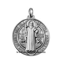 jewelry religious jewelry medals 925 sterling silver saint benedict medal
