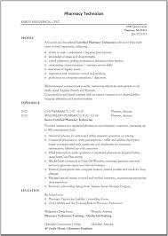 sample pharmacy tech resume template resume sample information gallery of sample pharmacy tech resume template