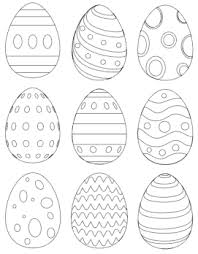 Here is a collection of 25 easter eggs coloring pages in different designs and patterns. 25 Free Printable Easter Egg Templates Easter Egg Coloring Pages The Artisan Life
