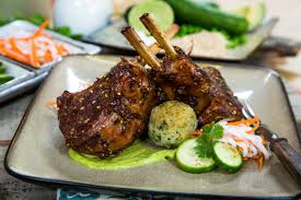 Scarlett Smorynskis Lamb Chops With Stuffed Arancini Home