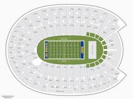 The Most Awesome La Memorial Coliseum Seating Chart
