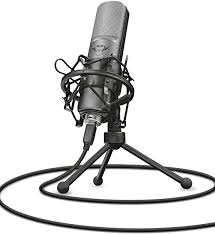<b>Trust</b> Gaming 22614 <b>GXT 242 Lance</b> Microphone and Stand for PC ...