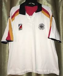 germany deutsche rugby sport 2007 jersey white w yellow red black fits l 2xl