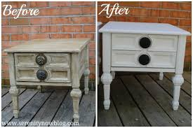 Serenity Now Thrift Store Furniture Makeover End Tables