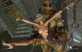 Trolls orcs as well as demons having fun with sexy lasses at.