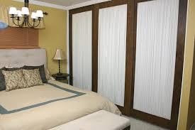 image of decoration rustic sliding mirror closet doors