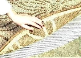water proof carpet pad waterproof carpet pad rug pads sunflower indoor outdoor rugs