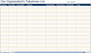 contact spreadsheet template excellent employee telephone email directory list template excel