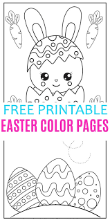 Children can get imaginative and colourful with our free colouring pages of easter eggs decorated with bunnies, chicks, stars and flowers. Easter Color Pages Life Is Sweeter By Design