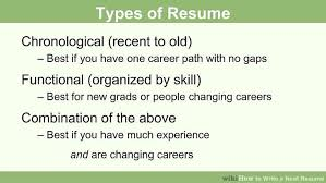 Skills To Mention On A Resume Amazing How To Write A Neat Resume 48 Steps With Pictures WikiHow