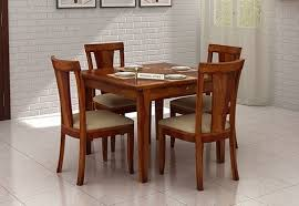 four seater dining table in india