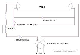 how fluorescent lamp (tube light) works on dc supply? led tube light wiring diagram Tube Light Diagram Tube Light Diagram #86