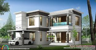 Kerala Flat Roof House Design 1981 Sq Ft 4 Bedroom Modern Flat Roof House Kerala Home