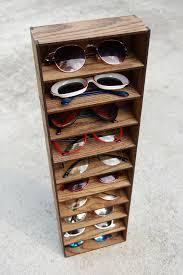 10ct sungl organizer rack sungl display storage custom gl case drawer organize stand handmade in tx