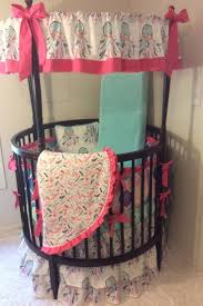 Circular Crib Bedding 42 Best Round Crib Bedding Images On Pinterest Round Cribs