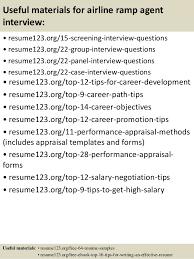 Airline Resume Samples Sample Airline Ramp Agent Resume Supporteduninterested Ml