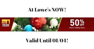 clearance off items at right now until lowes christmas tree awesome