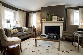 best living room rug placement