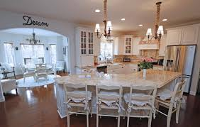 morning room furniture. The King Family\u0027s Kitchen Features An Island, Granite Countertops And Off-white Cabinets. Morning Room Furniture