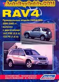 Download free - TOYOTA RAV4 (2000-2005) 1AZ-FSE, 1ZZ-FE repair ...