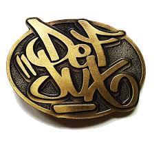 Def Jux Belt Buckle - Brass – Daylight Curfew