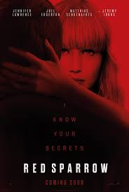 red sparrow (2018) bluray