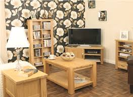 oak living room furniture ideas