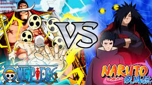 MUGEN 2vs2] One Piece VS Naruto Shippuden - YouTube