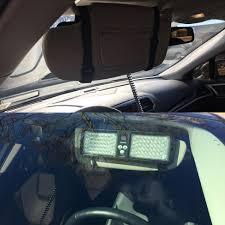 Sun Visor Police Lights Ubl Dual Thin Sun Visor Led Light Ultra Bright Lightz