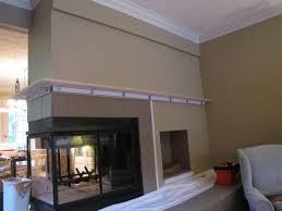 how to build fireplace mantel shelf with crown molding bibbidi bobbidi beautiful my rocks aka sided