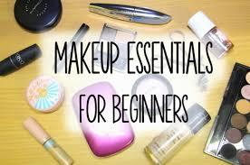 8 makeup essentials for beginners