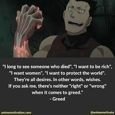 Greed Quotes Impressive 48 Fullmetal Alchemist Quotes To Add Meaning To Your Life