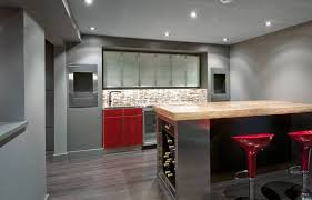 Complete Basement Renovation Also Includes Custom Wet Bar DMA