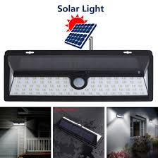 Solar Led Garden Lights Ebay Details About Led Solar Power Pir Motion Sensor Wall Light Yard Garden Lamp Waterproof Outdoor