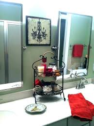 Red Black And White Bathroom Accessories Bathroom Captivating Best
