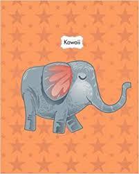 """<b>Kawaii</b>: Animals <b>Cute Kawaii</b> Sweet <b>Notebook Stationery</b> 8""""x10 ..."""