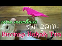 Banyak sekali tutorial tentang cara membuat oraigami yang origamee adalah sebuah aplikasi yang memberikan tutorial cara membuat origami. Cara Membuat Origami Burung Kakak Tua Lagu Mp3 Mp3 Dragon