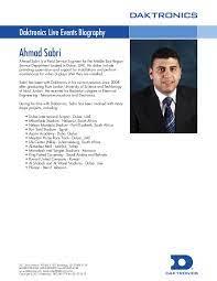 Biography Ahmad Sabri